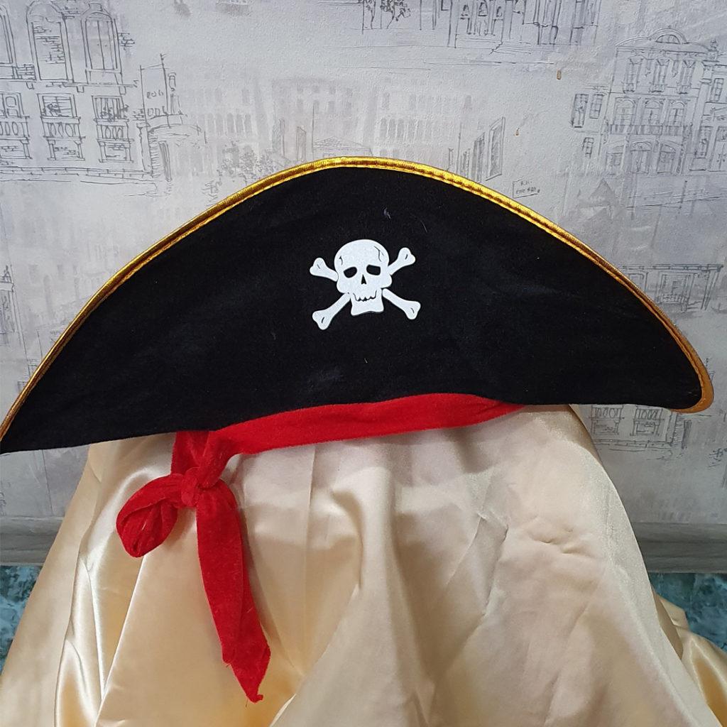 Прокат шляпы пирата