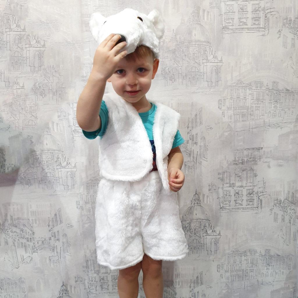 Костюм Мишки белого
